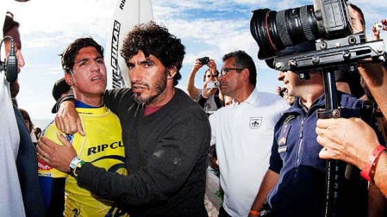 Gabriel Medina: angry with surf judges