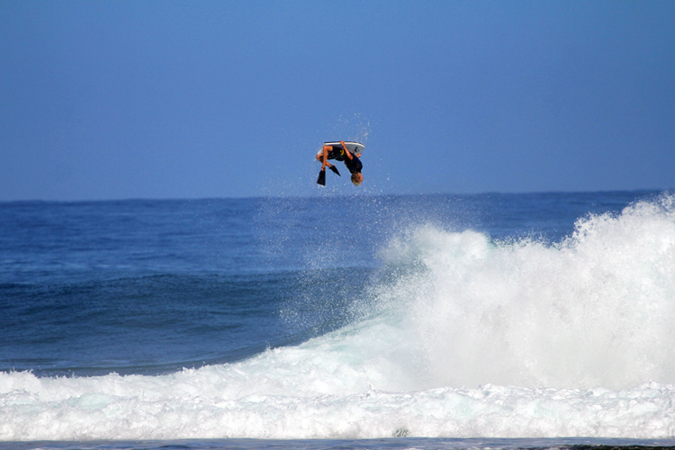 Tanner McDaniel: gainer power | Photo: Science Bodyboards