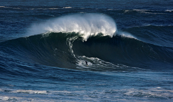 Garrett McNamara: he loves the Portuguese waves