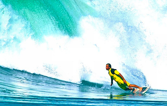 Gary Elkerton: power surfer | Photo: T