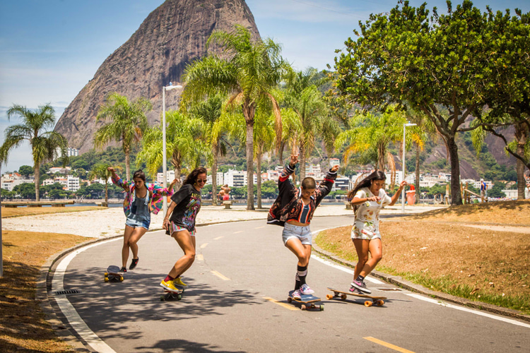 The Girls of Guanabara: a longboard dancing movie | Photo: Lucas Inke