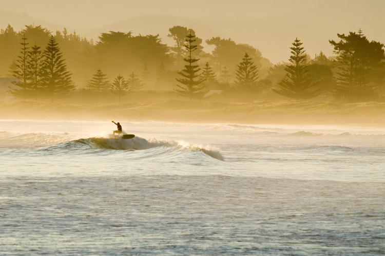 Gisborne: a popular surfing region in New Zealand | Photo: Tairawhiti Gisborne