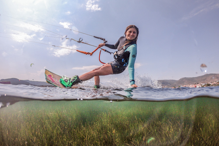 Gisela Pulido: she will compete at the inaugural Red Bull Tarifa 2 | Photo: