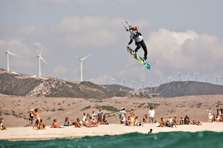 Tarifa Pro Kite Tour 2014: the Big Air showdown