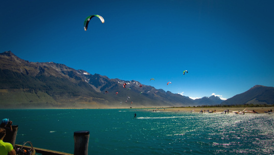 Glenorchy: windsurf and kitesurf heaven on earth
