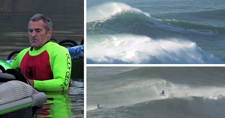 Garrett McNamara and friends: enjoying the first swell of the 2014/2015 big wave surfing season