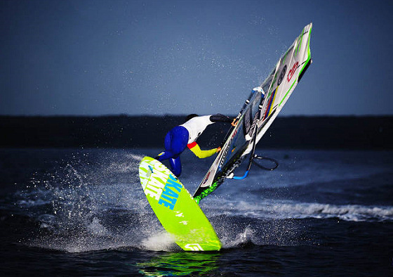 Gollito Estredo: king of freestyle windsurfing