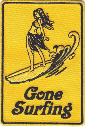 Gone Surfing Patch