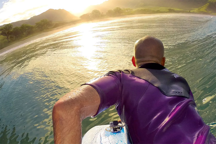 GoPro: capturing the best bodyboarding waves