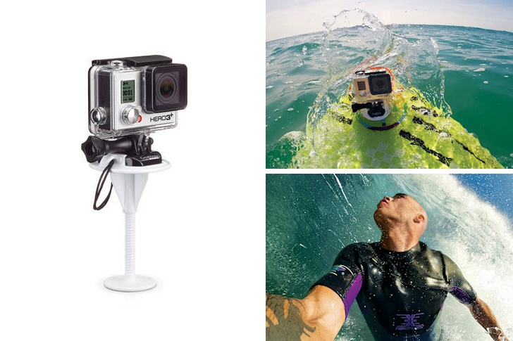 GoPro launches bodyboard mount