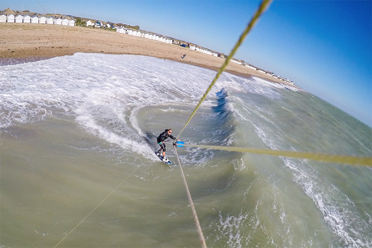 GoPro kite mount: capture the beauty of kiteboarding | Photo: Lewis Crathern