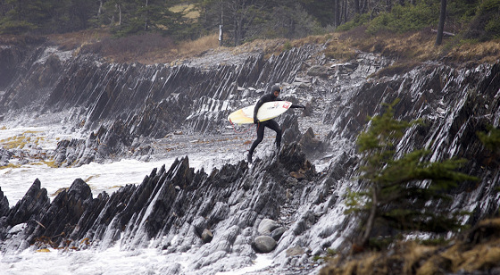 Got Surf: yes, it's freezing cold Canada