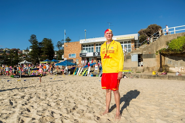 Graham Ford: proud president of Surf Life Saving Australia