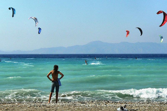 Greece: great for wind riding | Photo: KiteProCenter
