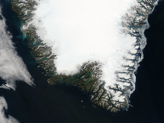 Greenland: cold as ice