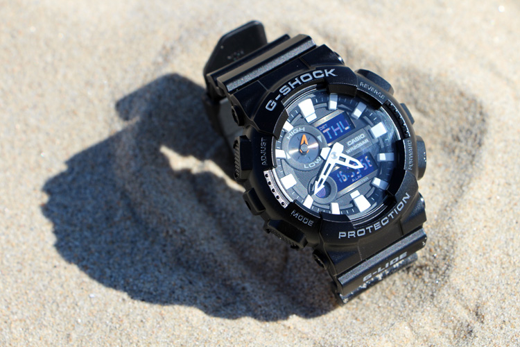 Casio G-Shock G-Lide GAX100B-1A: a sturdy surf watch | Photo: SurferToday