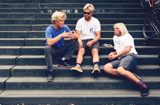 Gudauskas Brothers: find Pat, Dane and Tanner