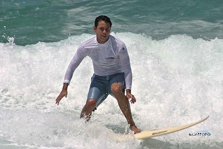 Guido Schaffer: the Surfing Angel will be a saint | Photo: guidoschaffer.com.br/surffoto.com.br