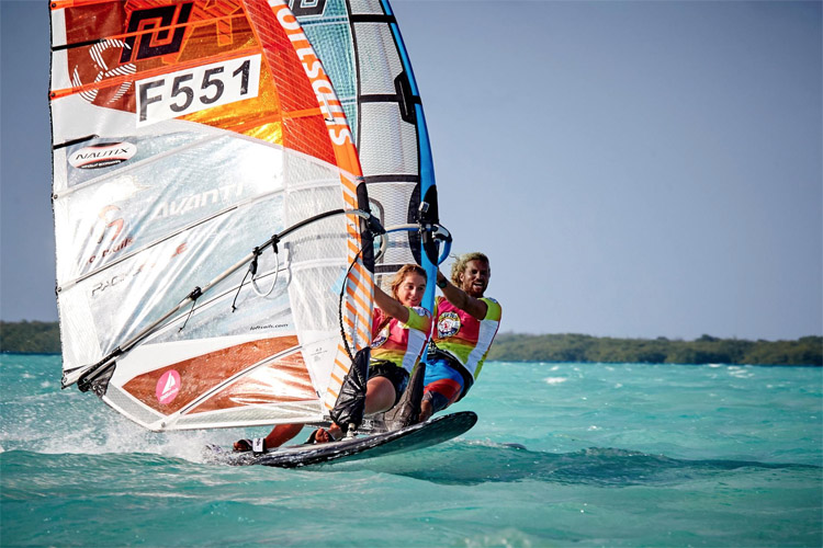 Julien Quentel wins the 2017 Défi Wind Caribbean