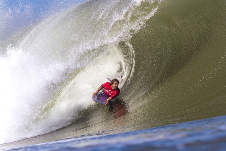 Guilherme Tâmega: the Brazilian bodyboarder won six world titles | Photo: Gonzo/APB