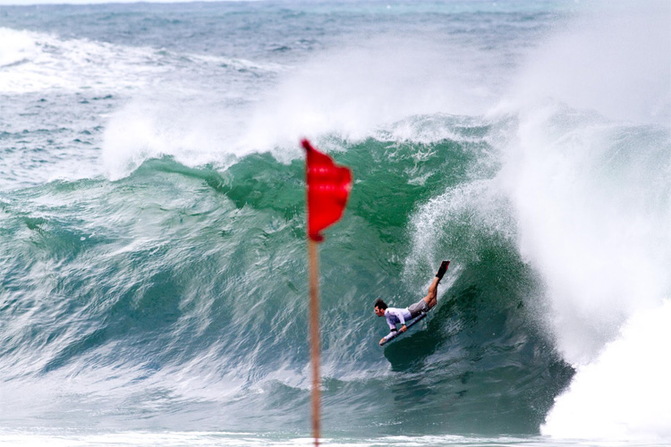 Guilherme Tâmega: probably the most successful Brazilian bodyboarder of all time | Photo: IBA