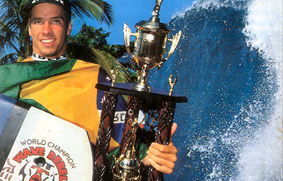 Guilherme Tâmega: Pipeline delivered beautiful waves and titles back in 1994