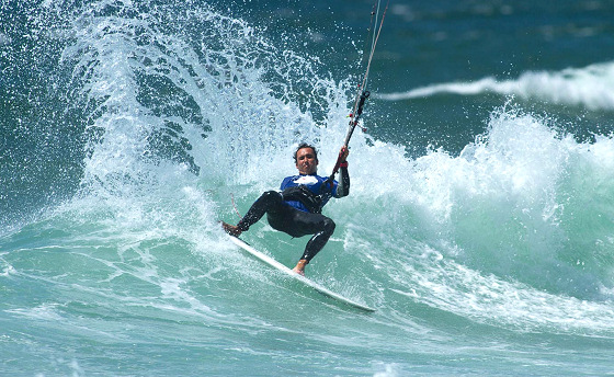 Guincho Beach: wave kitesurfing heaven