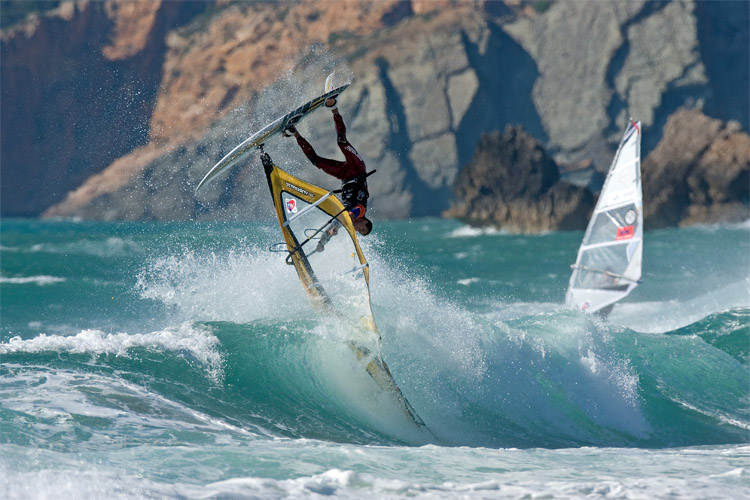 Guincho: the best windsurfing spot in Portugal | Photo: PWA