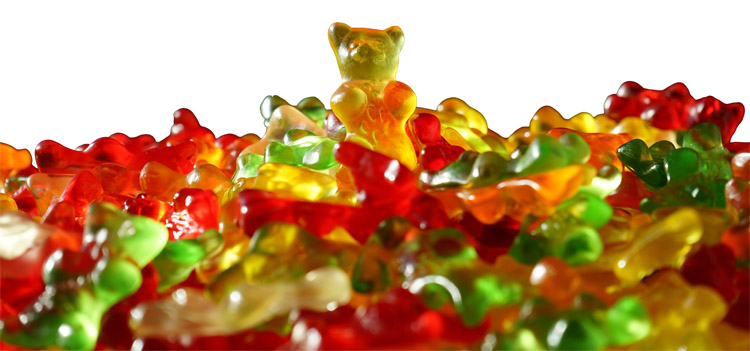 Gummies: a poisonous sugar with lycasin | Photo: Creative Commons