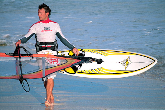 Guy Cribb: the British Laird Hamilton