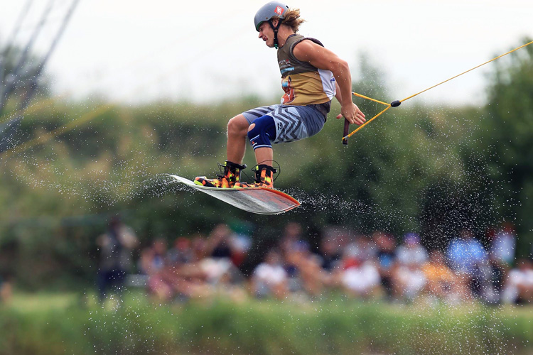Guy Firer: 2015 cable wake master | Photo: Andrea Gilardi