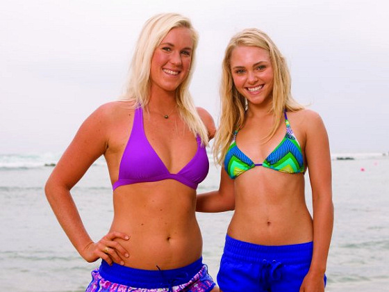 Bethany Hamilton and AnnaSophia Robb: friends forever