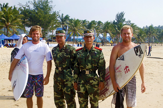 Surfing Hainan: always protected