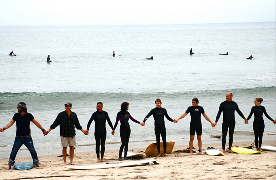 Hands Across The Sand: surfers against offshore drilling