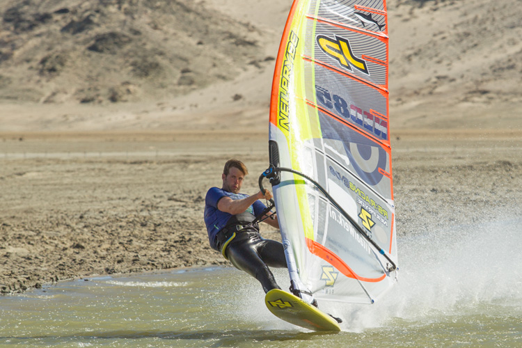 Hans Kreisel: driven by speed | Photo: Beadle/Luderitz Speed Challenge