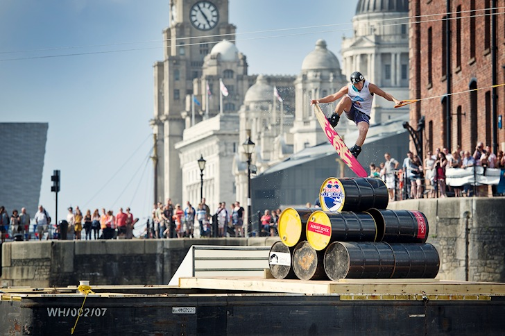 Red Bull Harbour Reach: cast iron, brick, stones and airs | Photo: Red Bull