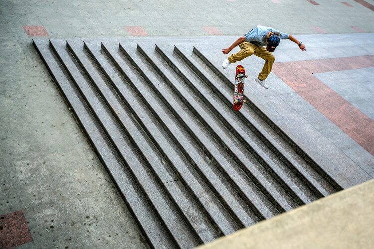 Hardflip: the first person anyone saw landing a hardflip was Dan Gallagher | Photo: Red Bull