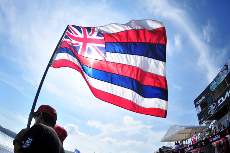 Hawaiian flag: the British and American legacy in red, blue and white | Photo: Rommel/ISA