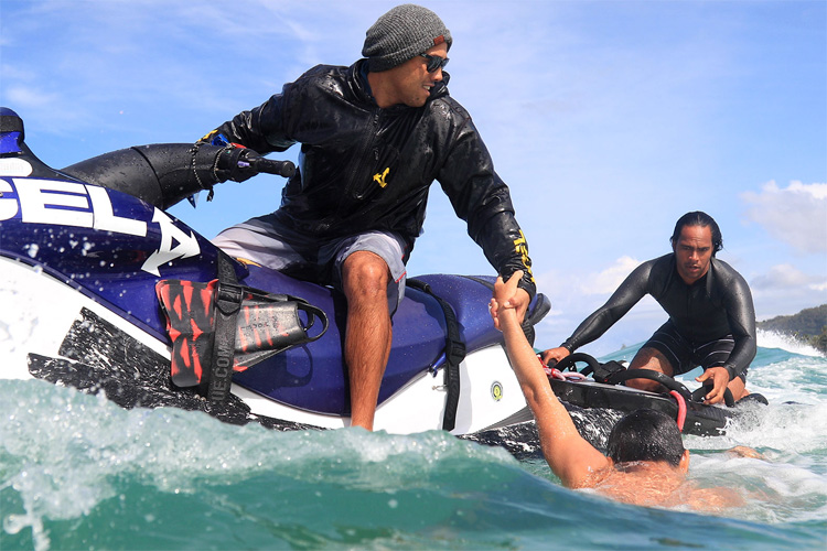 Hawaiian Water Patrol: saving the lives of surfers in extreme ocean conditions | Photo: Xcel