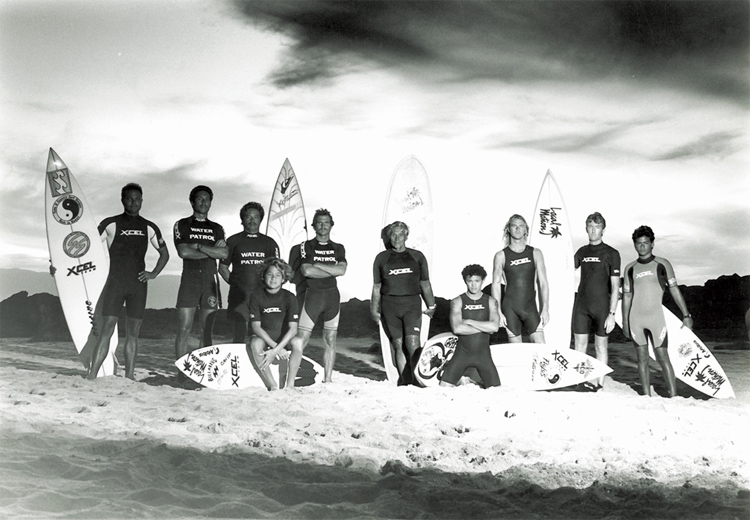 Hawaiian Water Patrol: founded in 1985 by Brian Keaulana and Terry Ahue | Photo: Xcel