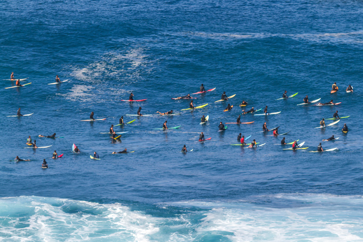 Hawaii: in crowded surf breaks you may hear an occasional 'haoles, go home!' | Photo: Shutterstock