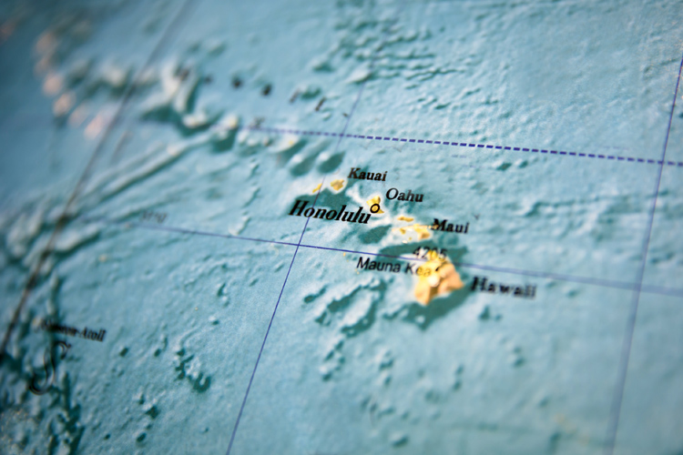 Hawaii: the most isolated population center in the world | Photo: Shutterstock