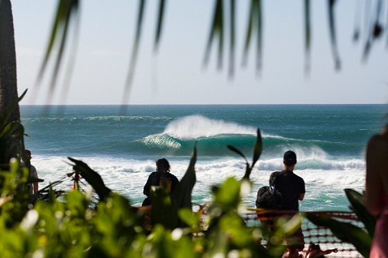 Pipeline is pumping perfect waves