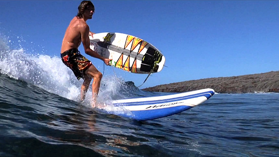 Here & Now: 24 hours of strange surfing ideas