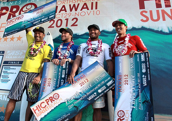HIC Pro 2012: Sunny Garcia takes it all
