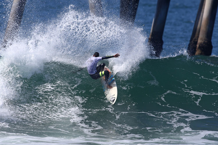 Hizunome Bettero: he won his first event after more than 10 years on the QS | Photo: Baptista/WSL