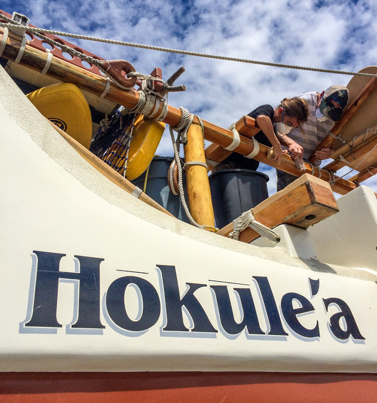 Hokulea: it measures 62 feet in length, and 20 feet in width | Photo: Jason Patterson