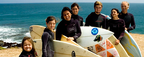 Homes of Hope: surfing as a mission to help others