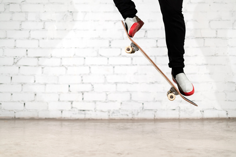 The ollie: the more you practice, the faster you