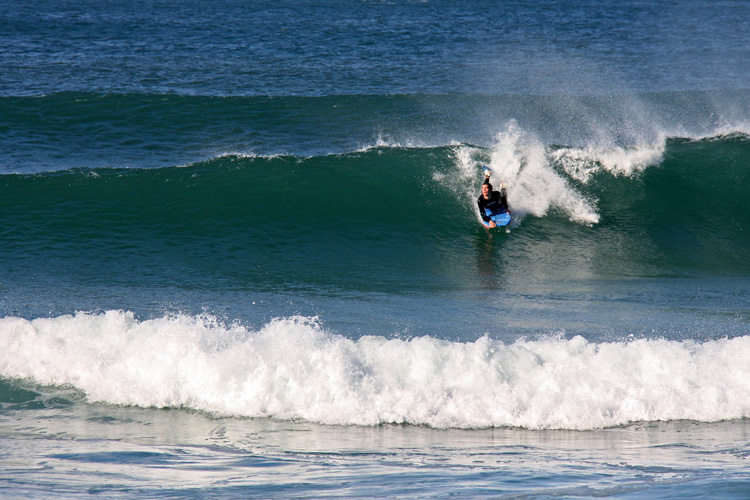 Bodyboarding: learn how to trim the wave | Photo: Tim Keegan/Creative Commons